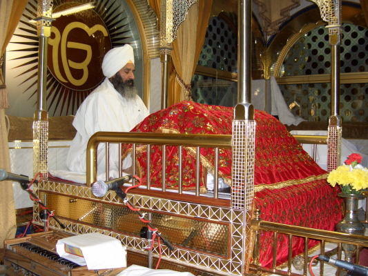 the Sri Guru Granth Sahib,