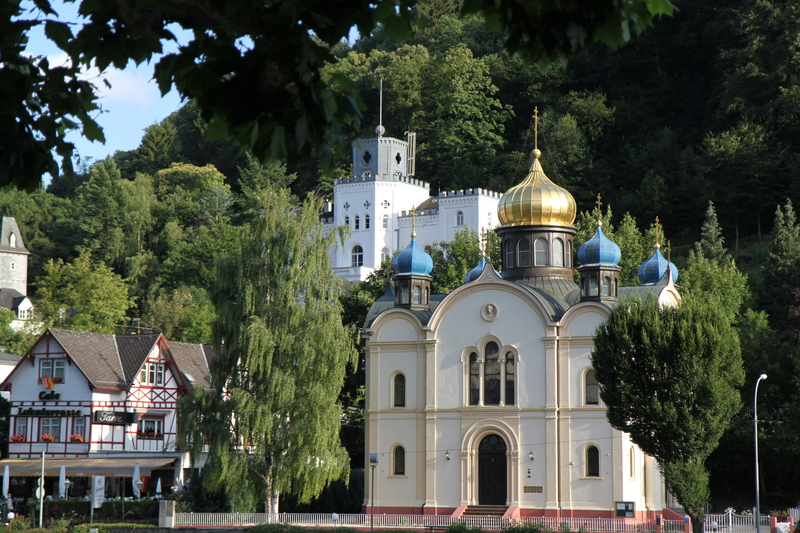Eglise orthodoxe russe de Bad Ems.